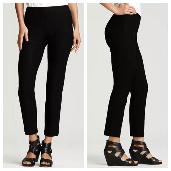 Eileen Fisher black stretch pants sz small (x27)
